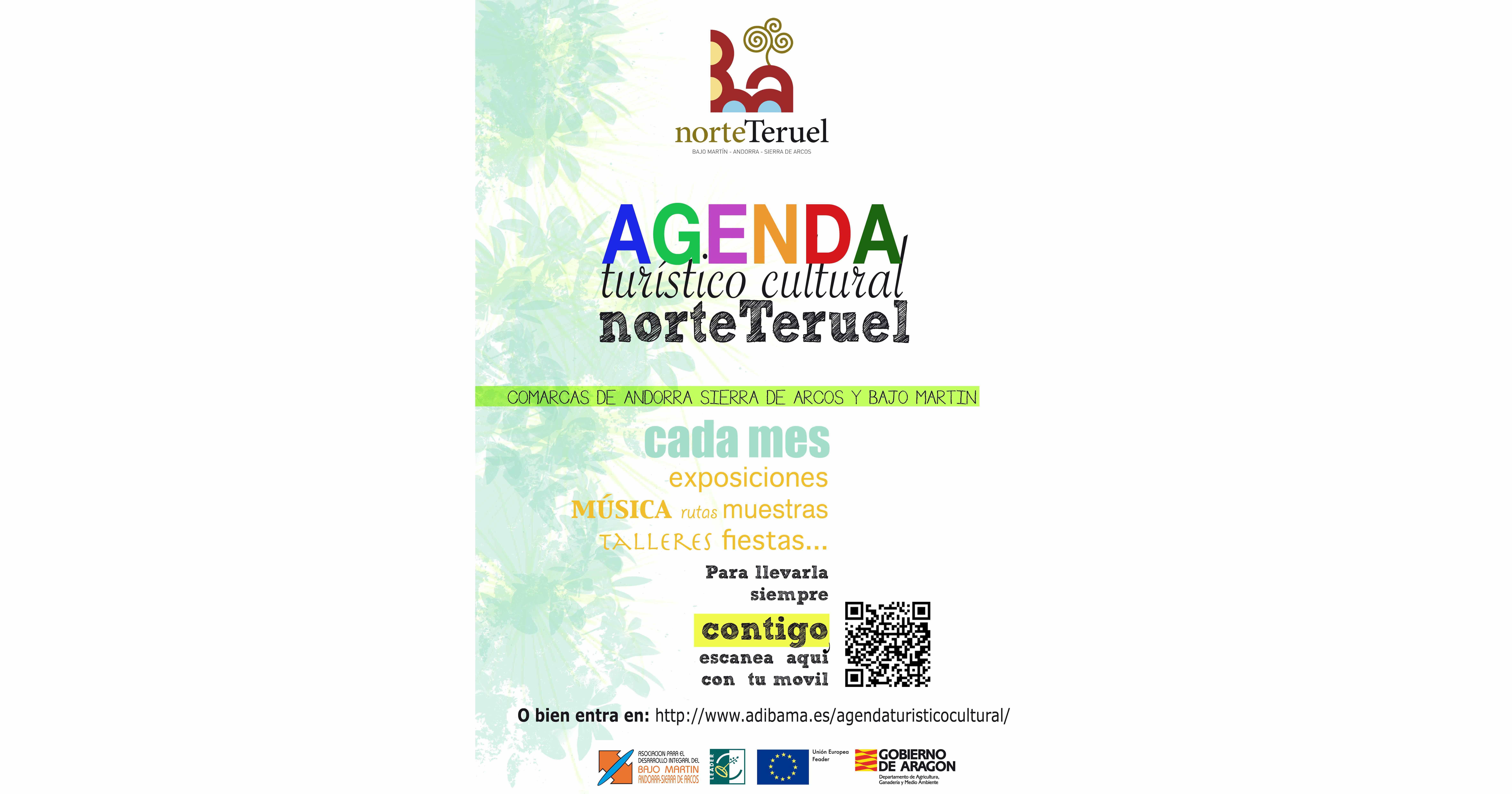 Cartel AgendaTurismoCulturalorteTeruel