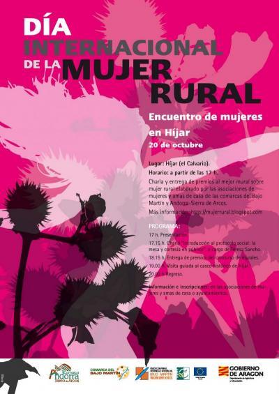 Cartel para el Día Internacional de la Mujer Rural
