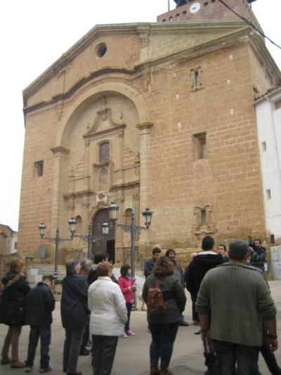 Visita a la Iglesia de La Puebla de Híjar