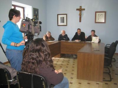 Presentación en el Ayuntamiento de Híjar
